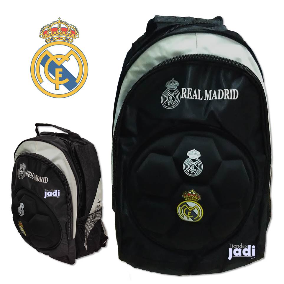 Bolso real madrid escolar